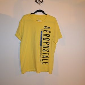 4 for $$25 Aeropostale yellow t-shirt xl